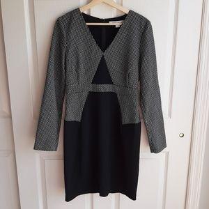 Diane Von Furstenberg Black Natasha Dress Size 8